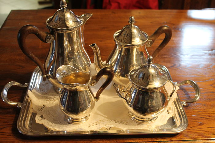 5 Piece Tea And Coffee Serving Set Catawiki