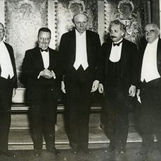 Unknown/Acme - Albert Einstein & Nobel Prize laureates, 1929