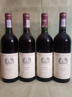 1996 Groot Constantia - Shiraz - 4 bottles