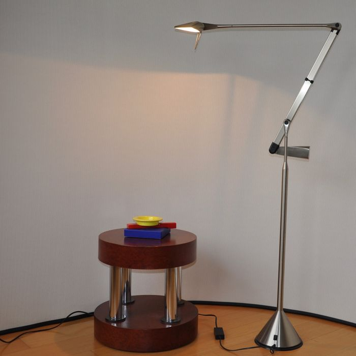 Walter Monici for Lumina Italia Srl - Lumina Zelig Terra halogen floor lamp with two position switch and dimmer