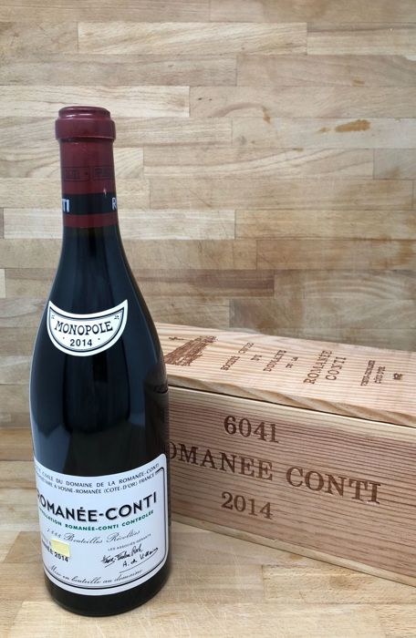 2014 Domaine de la Romanee-Conti Romanee-Conti Grand Cru - 1 bottle