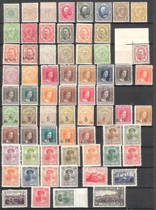 Luxembourg 1920/1960 - Stamp collection