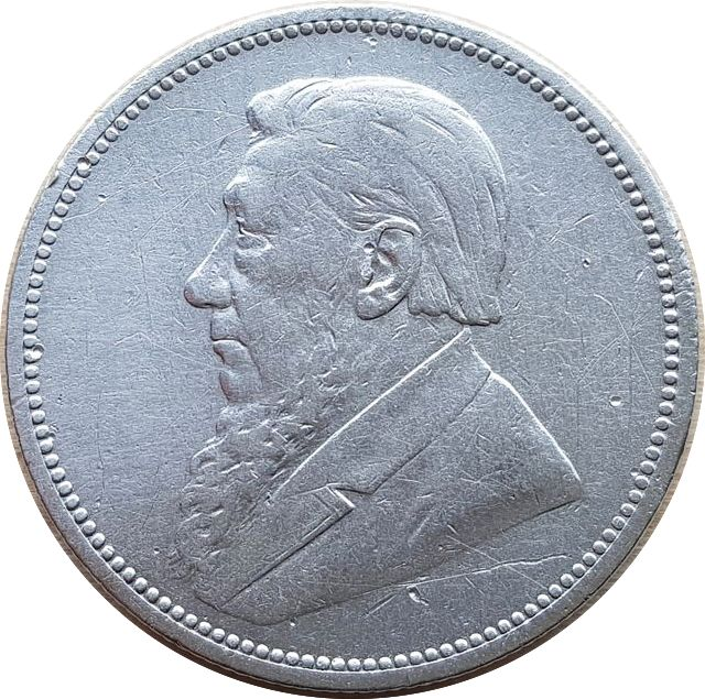 South Africa - 2 Shillings 1894 - silver