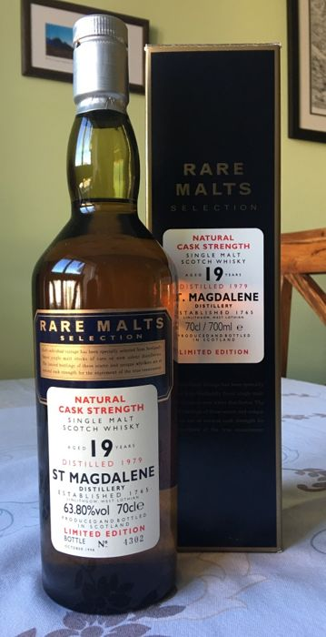 St. Magdalene 1979 19 years old - Rare Malts - 63.8% - 70cl