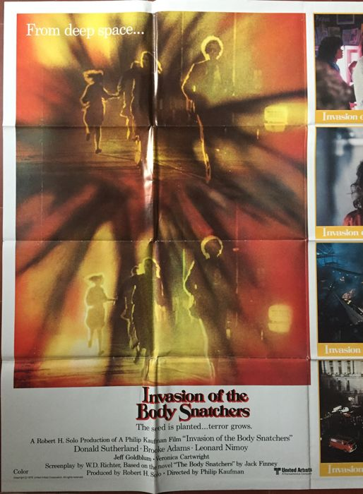 Anonymous - Invasion of the body snatchers (science-fiction) - 1978