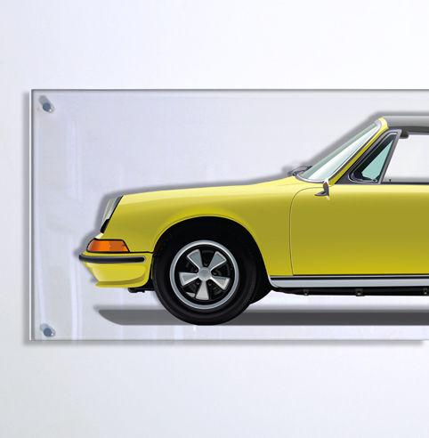 Decoratief object - TL-Halmo Collection Porsche 911 Targa - 2018