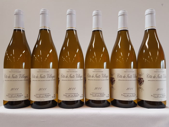 2011 - Côtes de Nuits Villages - Paul de la Ronce : 6 bottles