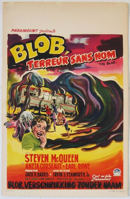 The blob (Steve McQueen / Irvin S. Yeaworth Jr.) - 1958