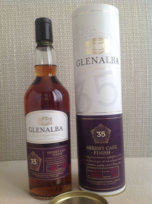Glenalba 35 years old Sherry Cask Finish - 70cl