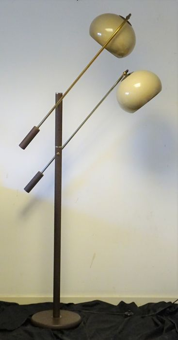 Dijkstra lampen floor lamp with 2 spheres catawiki for Dijkstra lampen
