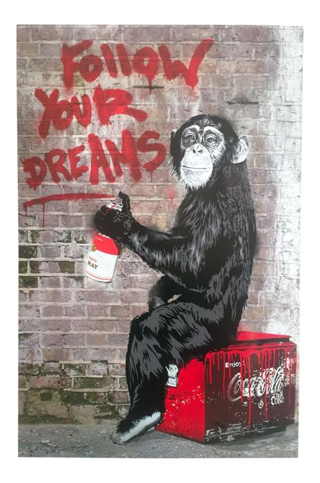 "Mr Brainwash - ""Follow Your Dreams"""