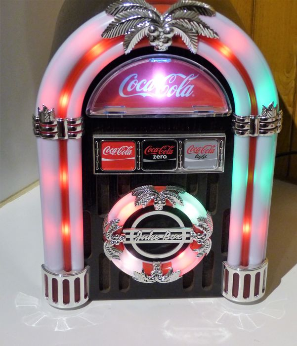 Coca Cola cd-radio fm usb player - pen set 125 y Coca Cola