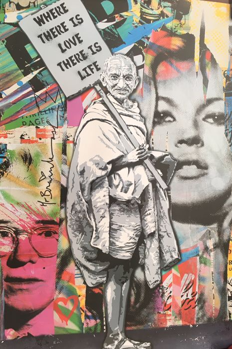 Mr Brainwash - Ghandi