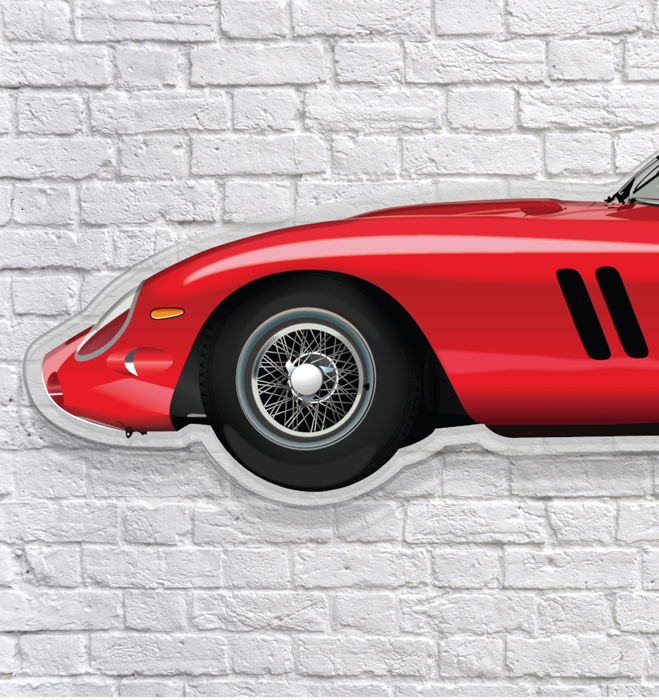 SL - Wall Scale Model Halmo Collection Ferrari 250 GTO