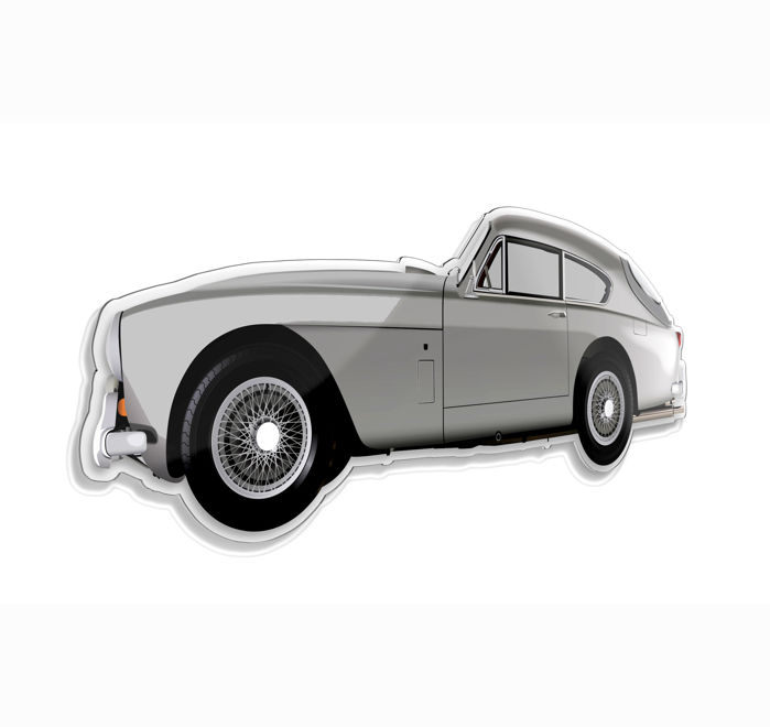 SL - Wall Scale Model Halmo Collection Aston Martin DB2