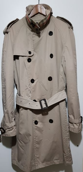 reputable site 5bbb0 1f6d9 Burberry - Men's double breasted trench coat, vintage and ...