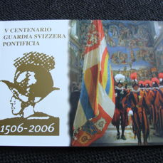 Vatican - 2 Euro 2006 'Swiss Guard' in numismatic cover
