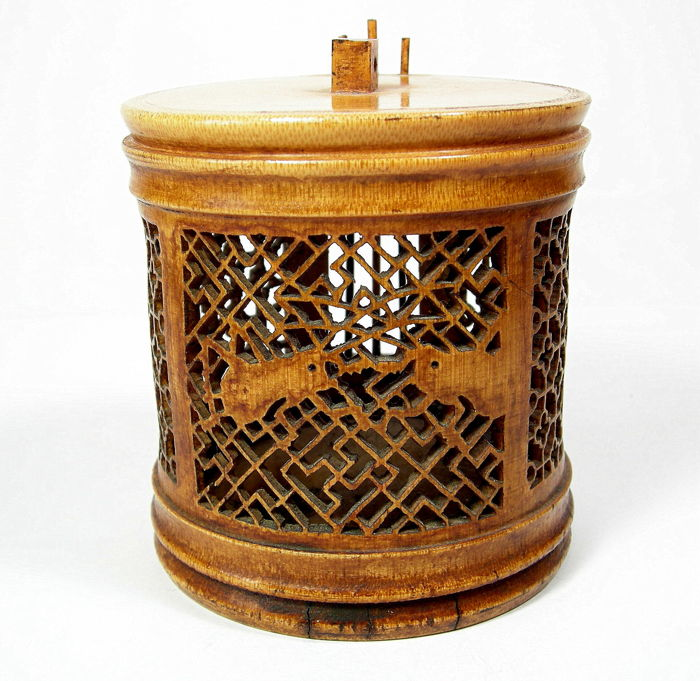 Barbecue holder - bamboo - China - 19th/20th century
