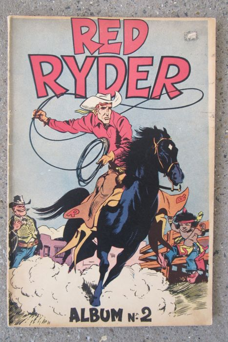 Red Ryder 2 - Album nr. 2 sc - 1e druk - (1949)