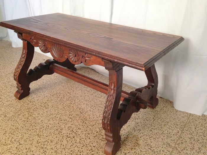 Church Bench - Solid Wood - Portugal d'occasion