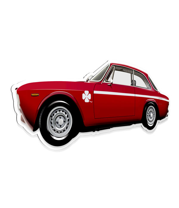 SL- Halmo Collection - Alfa Romeo Giulietta GTA plexiglass model