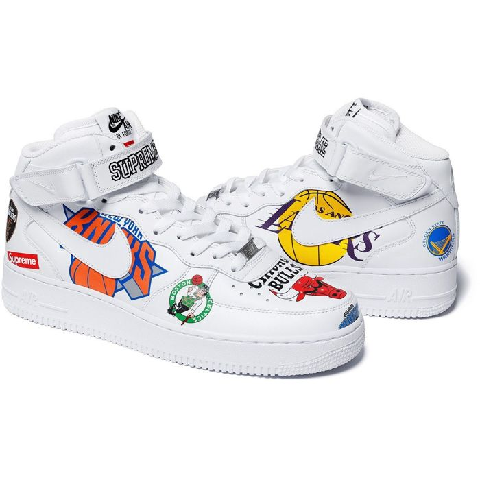 Nike Air Force 1 Mid Supreme NBA - Sneakers - Catawiki d1f31fcf8