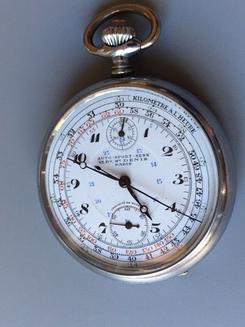 Auto -Sport-Senn - Chronograph -Very Rare - 1397996 - Men - 1901-1949