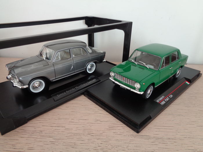 Fiat 124 1966 by NOREV