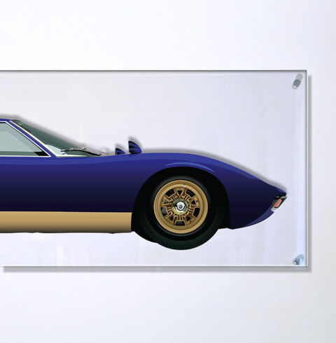 Decoratief object - TL-Halmo Collection Lamborghini Miura - 2018
