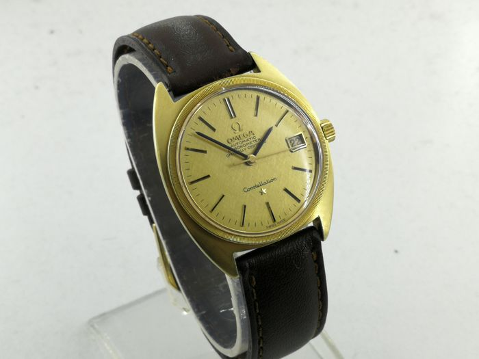 Omega - Constellation - 18k Gold  - 168009 - Men - 1980-1989