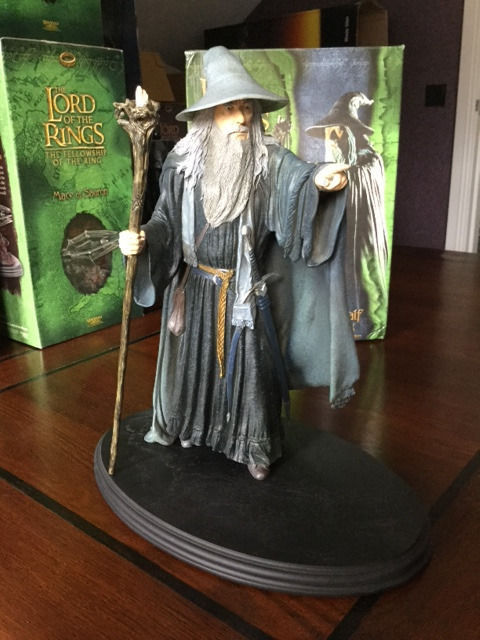 Lord of the Rings - Weta - Istari, Gandalf the Grey 1/6 statue
