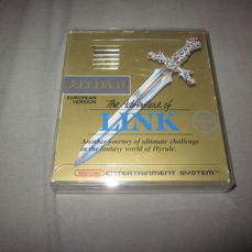 Nes - Zelda 2 - The adventure of Link (small box) complete