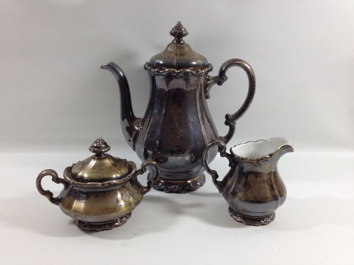 Old coffee set made by WMF, 1900