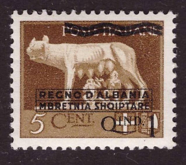 Albania occupazione Italiana 1940 - series not issued - Sass. S. 2