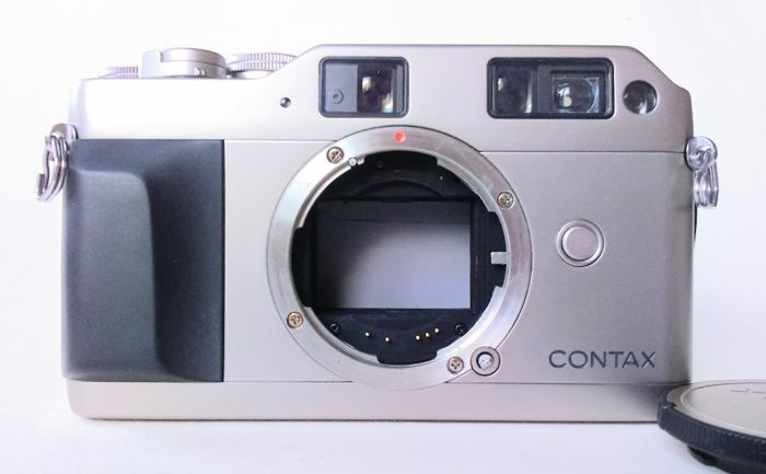contax g1 35mm data back gd 1 cap and strap instruction manual rh auction catawiki com Contax G1 Top Contax T3
