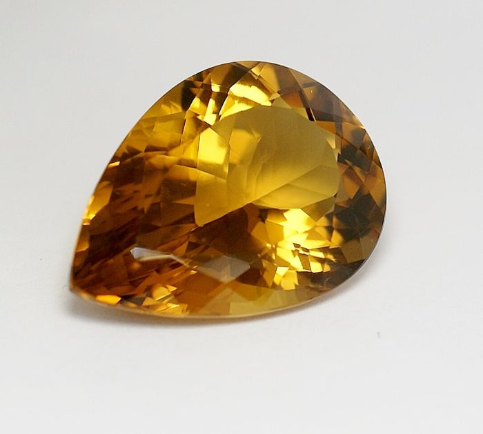 Citrine -brownish- yellow- orangy - 43.33 ct   NO RESERVE