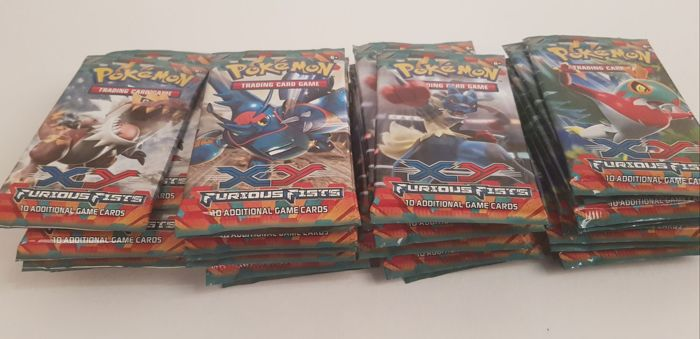 Pokémon - XY Furious Fists - 41 booster packs - English (2014)