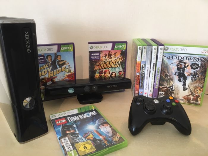 Massive Bundle - Xbox 360 Slim 250GB Console + Kinect