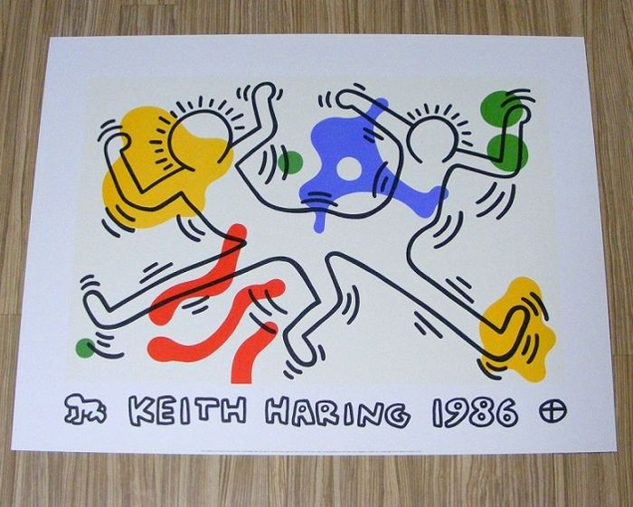 Keith Haring - Untitled,1986