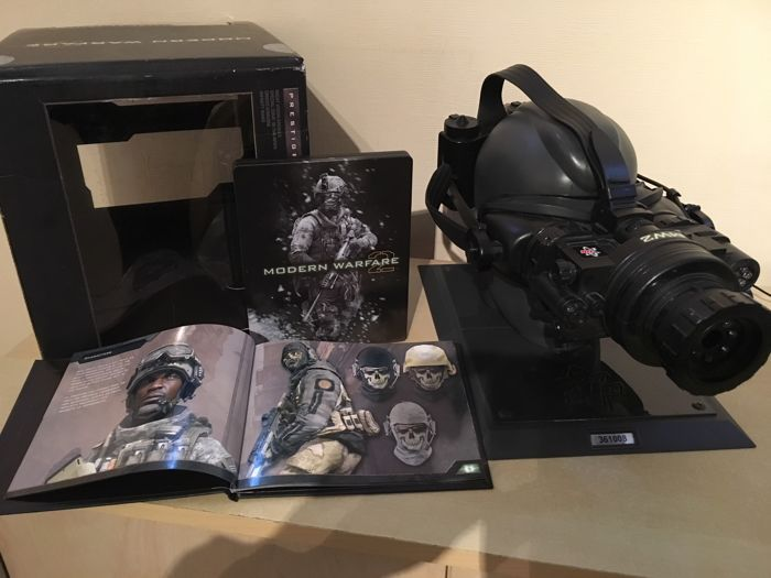 "PS3 Limited Edition No 361008 Call of Duty Modern Warfare 2 Prestige Edition - Night Goggles - ""Soap"" MacTavish Head - Steelbook Game"