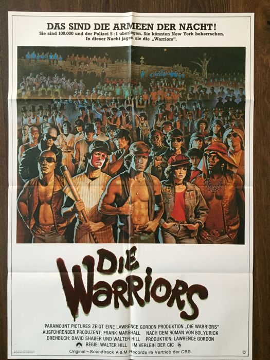 David Jarvis -  The Warriors , 1979