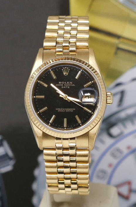 Rolex - Oyster Perpetual Date Ref 15238  - Unisex - 1990-1999