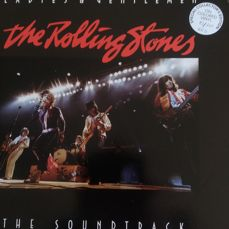 rolling stones 2lp ladies and gentlemen (the soundtrack )numbered edition 82\111 very rare album on red wax