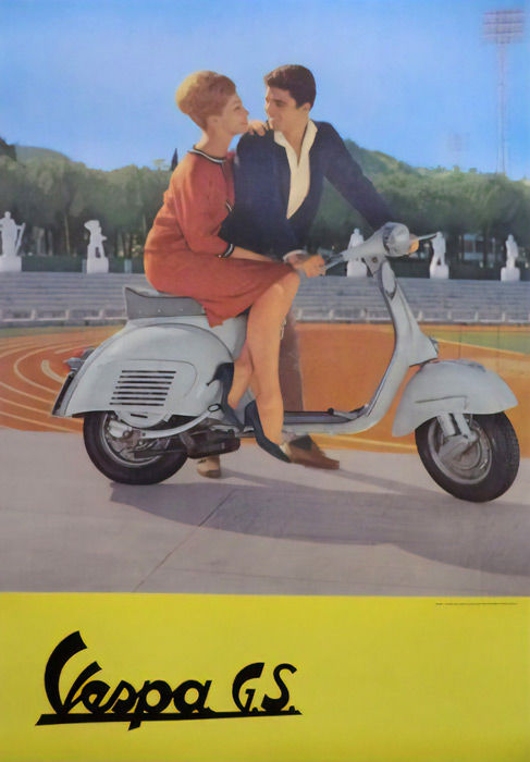 Anonymous - Vespa GS - 1960s