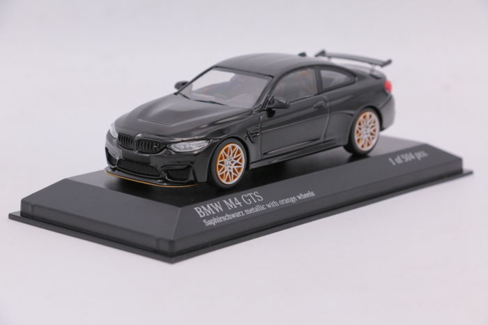 Minichamps   Scale 1/43   BMW M4 GTS   2016   Colour: Black
