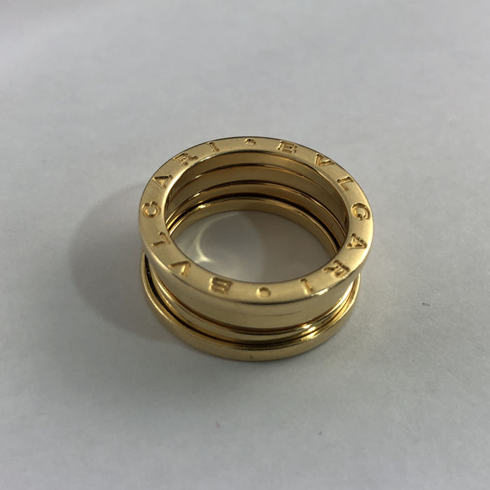 Bvlgari -  B.Zero1 Collection - Ref.2337AL - 3-band 18k Yellow Gold - Lady's Ring