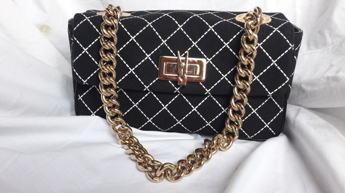 a96a889757dff Moschino - Sac à main épaule comme neuf - Vintage - Catawiki