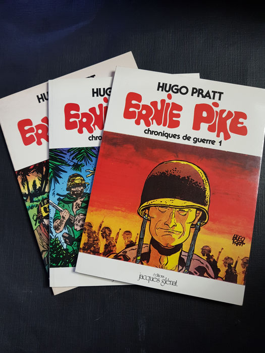 Pratt, Hugo - Ernie Pike Lot - Original Edition