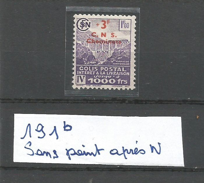 France – Postage stamps collection including varieties