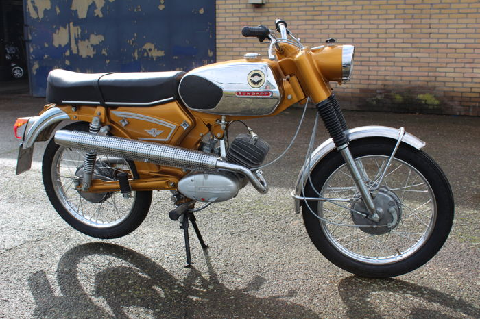 Zündapp - KS 50 - Supersport - 517-35 - Liste 0 - Cross - Goudhaan - 50 cc - 1972